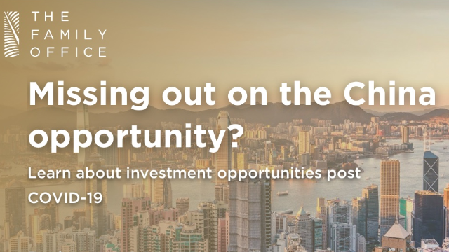 Missing out on the China opportunity?