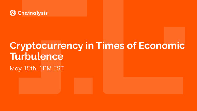 Cryptocurrency in Times of Economic Turbulence