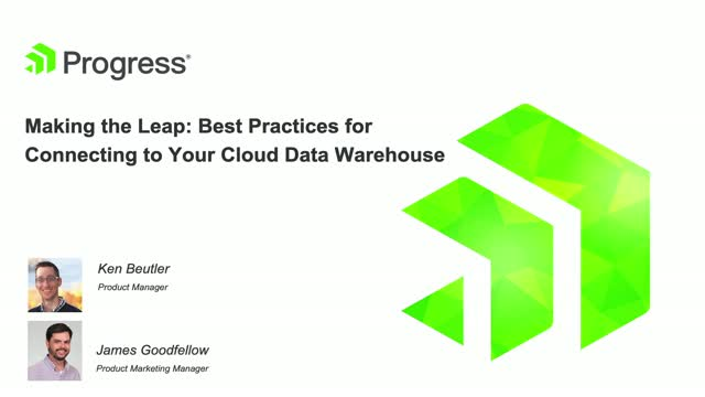 Making the Leap: Best Practices for Connecting to Your Cloud Data Warehouse