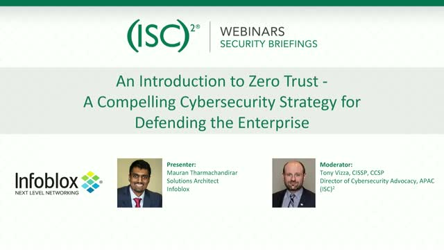 An Introduction to Zero Trust
