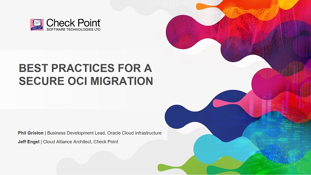 Best Practices for a Secure OCI Migration