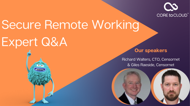 Secure Remote Working Expert Q&A