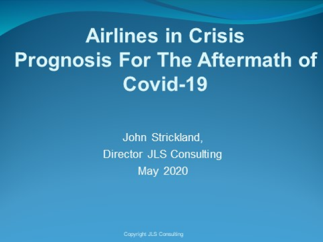 Airlines in Crisis - What is the Prognosis for the Aftermath of Covid-19?