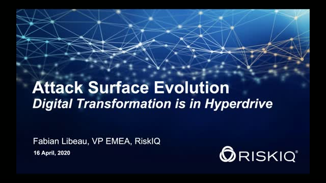Attack Surface Evolution - Digital Transformation is in Hyperdrive