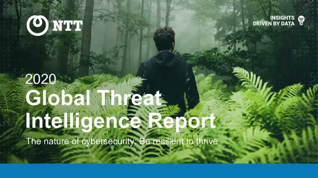 2020 Global Threat Intelligence Report: Technical Findings