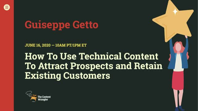 How to Use Technical Content to Attract Prospects and Retain Customers