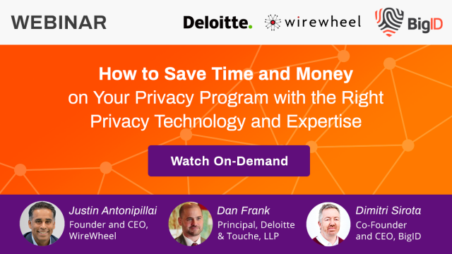 How to Save Time and Money on Your Privacy Program