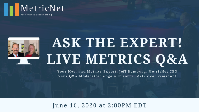 Ask the Expert! Live Metrics Q&A!