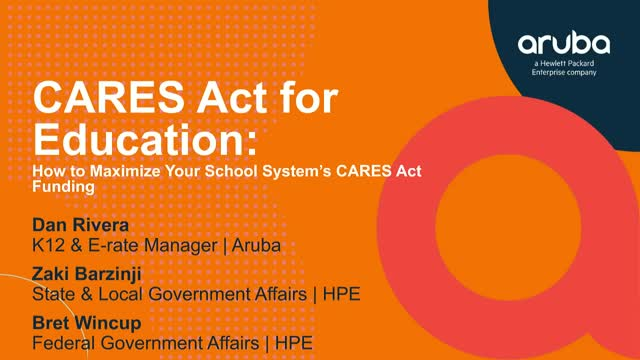 CARES Act for Education: How to Maximize Your School System's CARES Act Funding