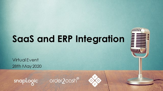 [Virtual Event]  SaaS & ERP Integration with SnapLogic