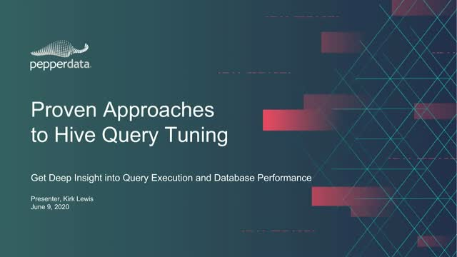 Proven Approaches to Hive Query Tuning