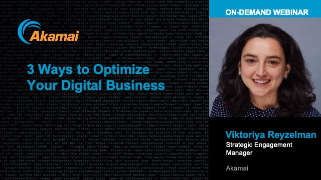 3 Ways to Optimize Your Digital Business