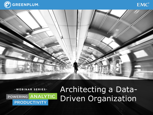 Architecting a Data-Driven Organization