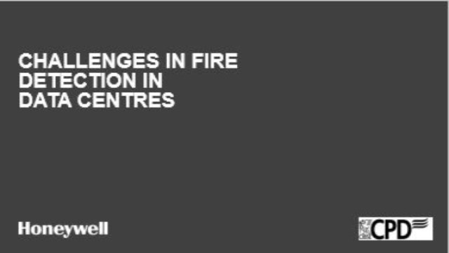 Challenges in Fire Detection in Data Centres