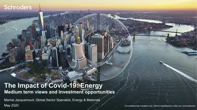 [Sector focus special] The impact of Covid-19: Energy