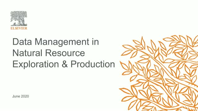 Data Management in Natural Resource Exploration & Production