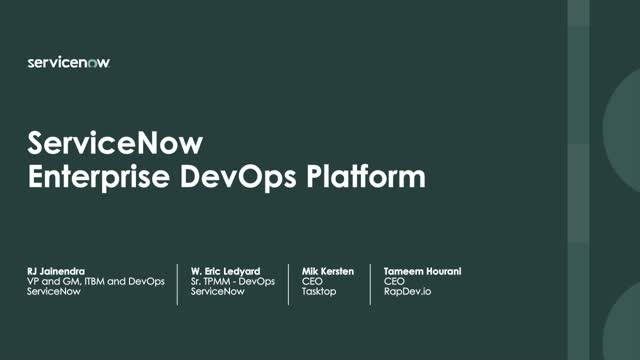 A New Era in Enterprise DevOps