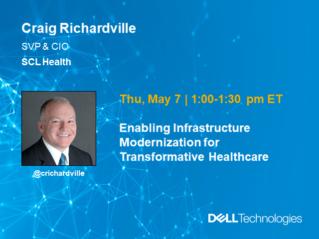 Enabling Infrastructure Modernization for Transformative Healthcare