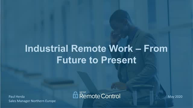Remote Access in Industrial Environments