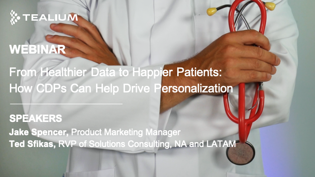 From Healthier Data to Happier Patients: How CDPs Can Help Drive Personalization