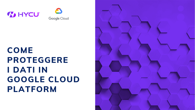 Come proteggere i dati in Google Cloud Platform