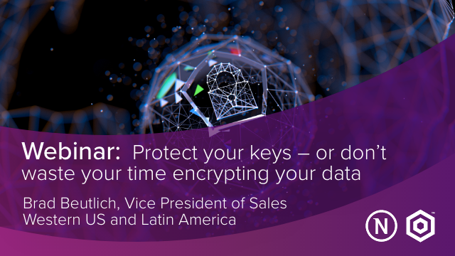 Protect your keys – or don't waste your time encrypting your data