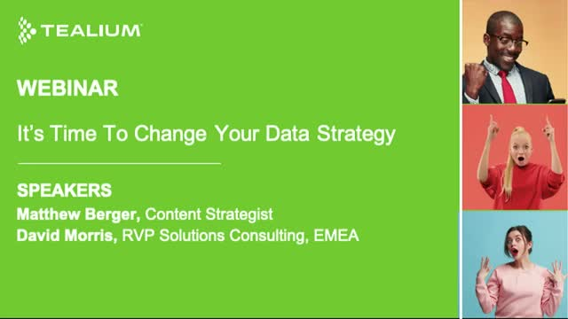 It's Time to Change Your Data Strategy