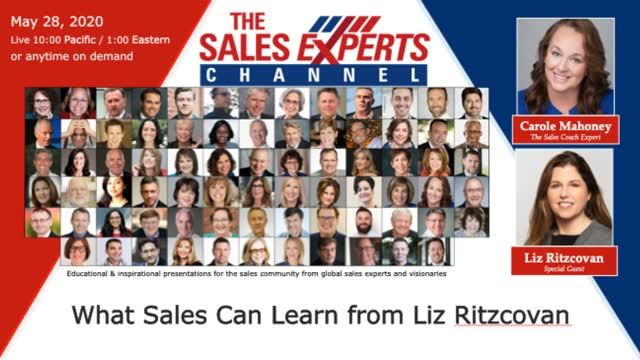 What Sales Can Learn from Liz Ritzcovan