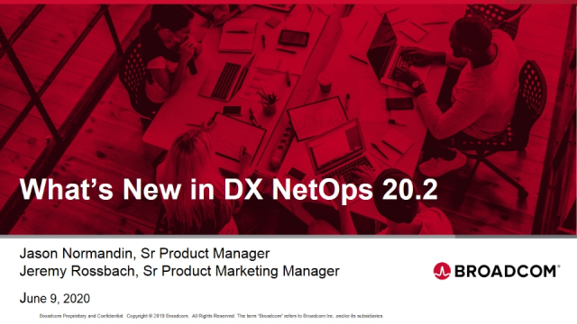 What's New in DX NetOps 20.2