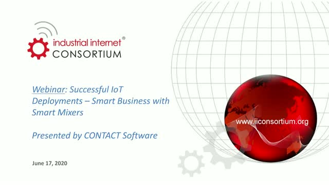 Successful IoT Deployments – Smart Business with Smart Mixers