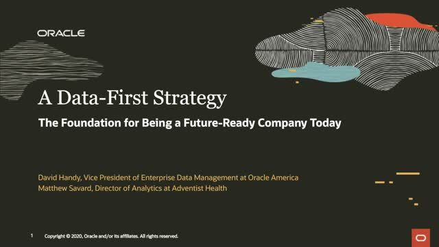 Adopting A Data-First Strategy To Drive Your Next Generation Applications