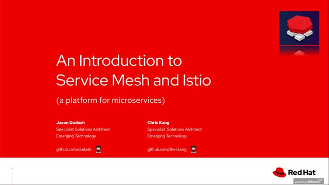Introduction to Service Mesh and Istio