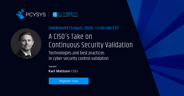 A CISO's Take on Continuous Security Validation