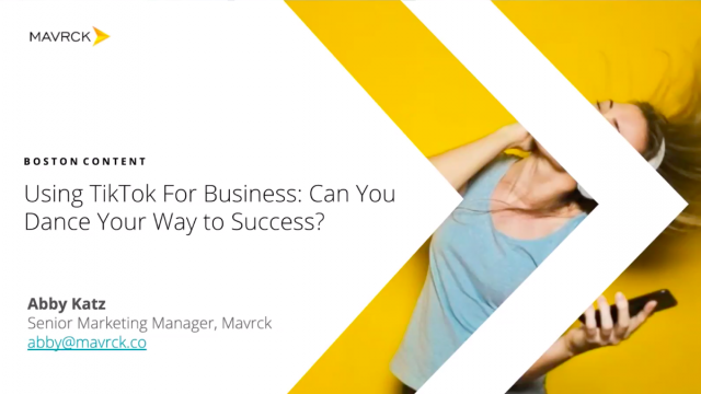 TikTok for Business: Can you dance your way to success?