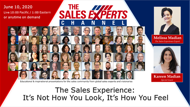 The Sales Experience: It's Not How You Look, It's How You Feel