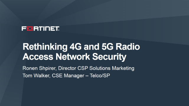 Rethinking 4G and 5G Radio Access Network (RAN) Security