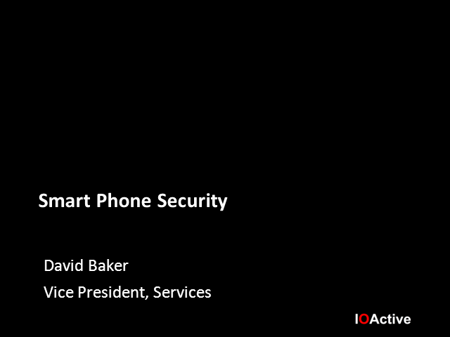 Mobile Devices: Is your organization protected from this newest threat?