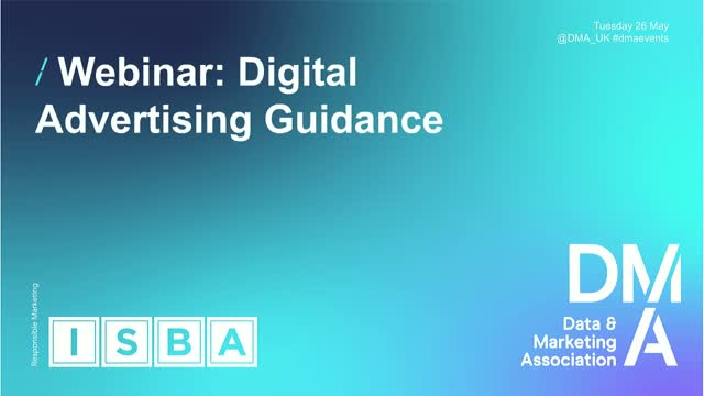 Webinar: Digital Advertising Guidance