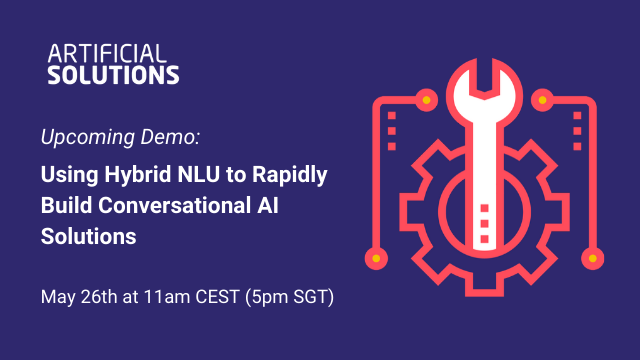 Demo: Using Hybrid NLU to Rapidly Build Conversational AI Solutions