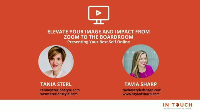 Elevate your image and impact from Zoom to the boardroom