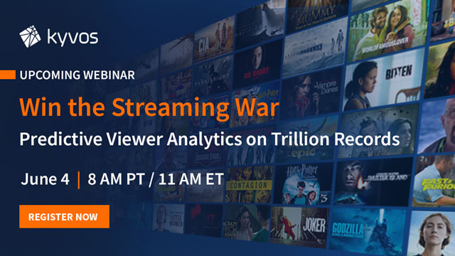 Win the Streaming War: Predictive Viewership Analytics on Trillion Records