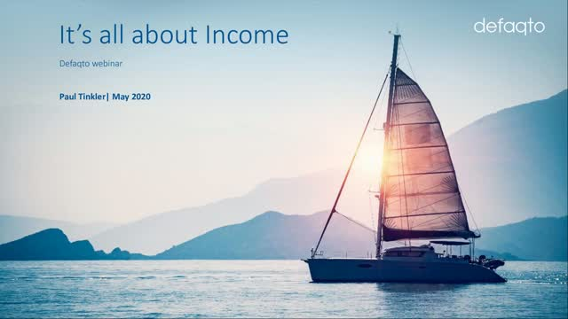 Defaqto CPD - The inescapable truths of income, retirement and life by Schroders