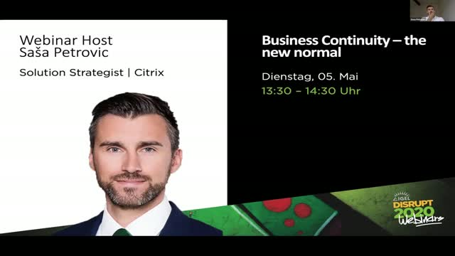 Business Continuity – the new normal
