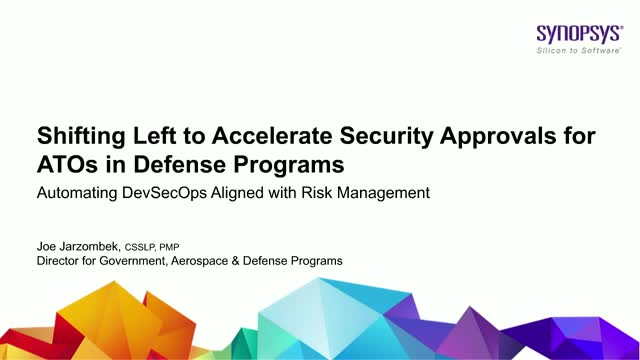 Shifting Left to Accelerate Security Approvals for ATOs in Defense Programs