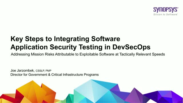 Key Steps to Integrating Software Application Security Testing in DevSecOps