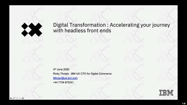 How to use headless commerce to accelerate your digital transformation