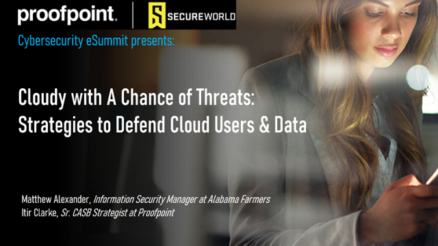 Cloudy with A Chance of Threats: Strategies to Defend Cloud Users and Data