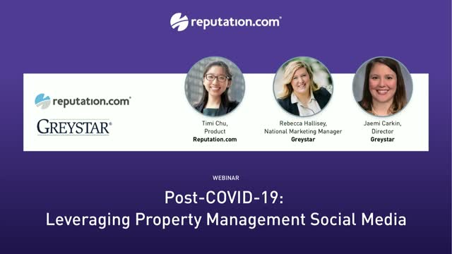 Post-Covid-19: Leveraging Property Management Social Media