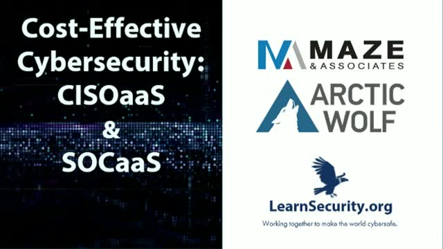 Cost-Effective Cybersecurity: CISOaaS & SOCaaS