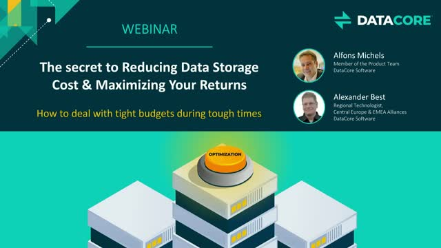The Secret to Reducing Data Storage Cost & Maximizing Your Returns